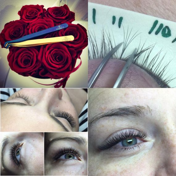 Eyelashes Extensions Training 1