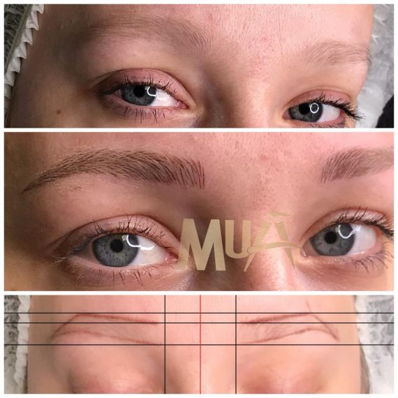 microblading before and after 3